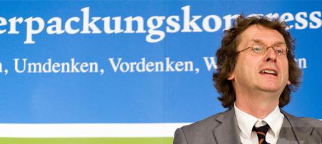 Michael Braungart auf dem Deutschen Verpackungskongress