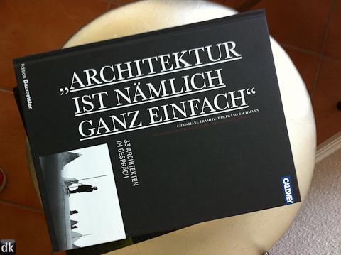 Architektur ist nämlich ganz einfach