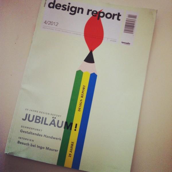 Designreport wird 25