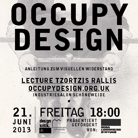 OCCUPY DESIGN 21.JUNI